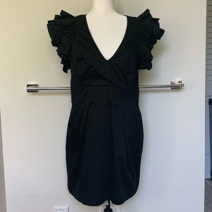 ⭐️NWOT⭐️French Connection Ruffle sleeve dress